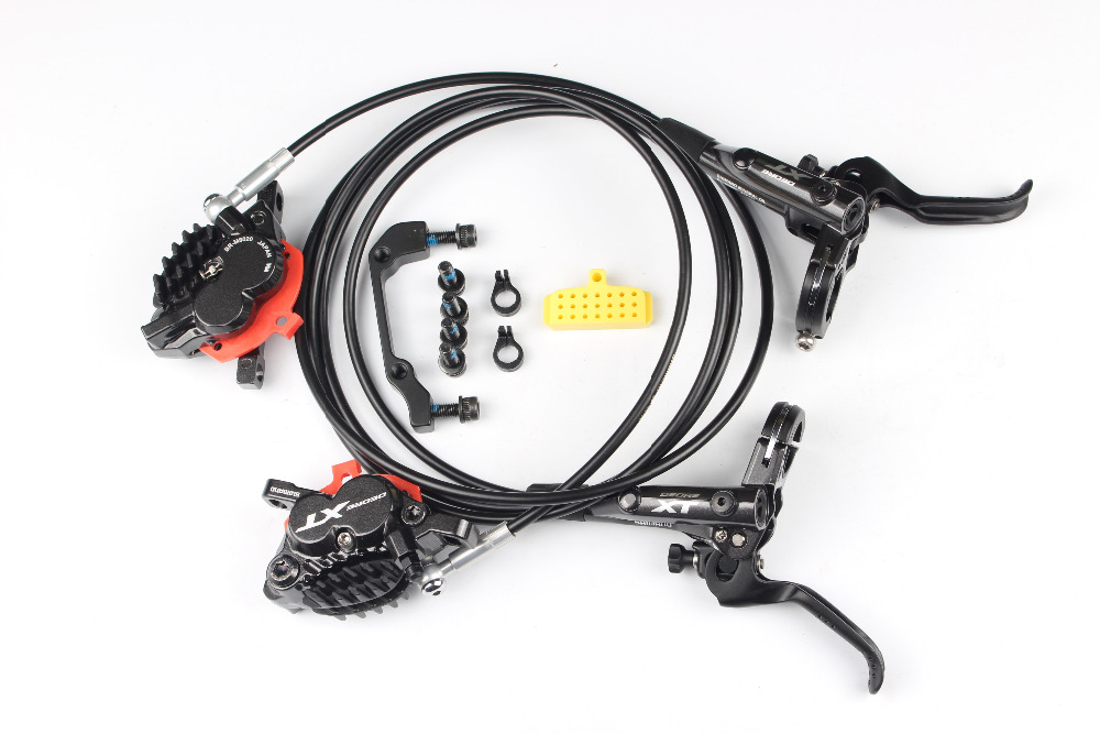 Shimano xt m8020 4 piston vélo vélo vtt frein à disque hydraulique pour descente dh