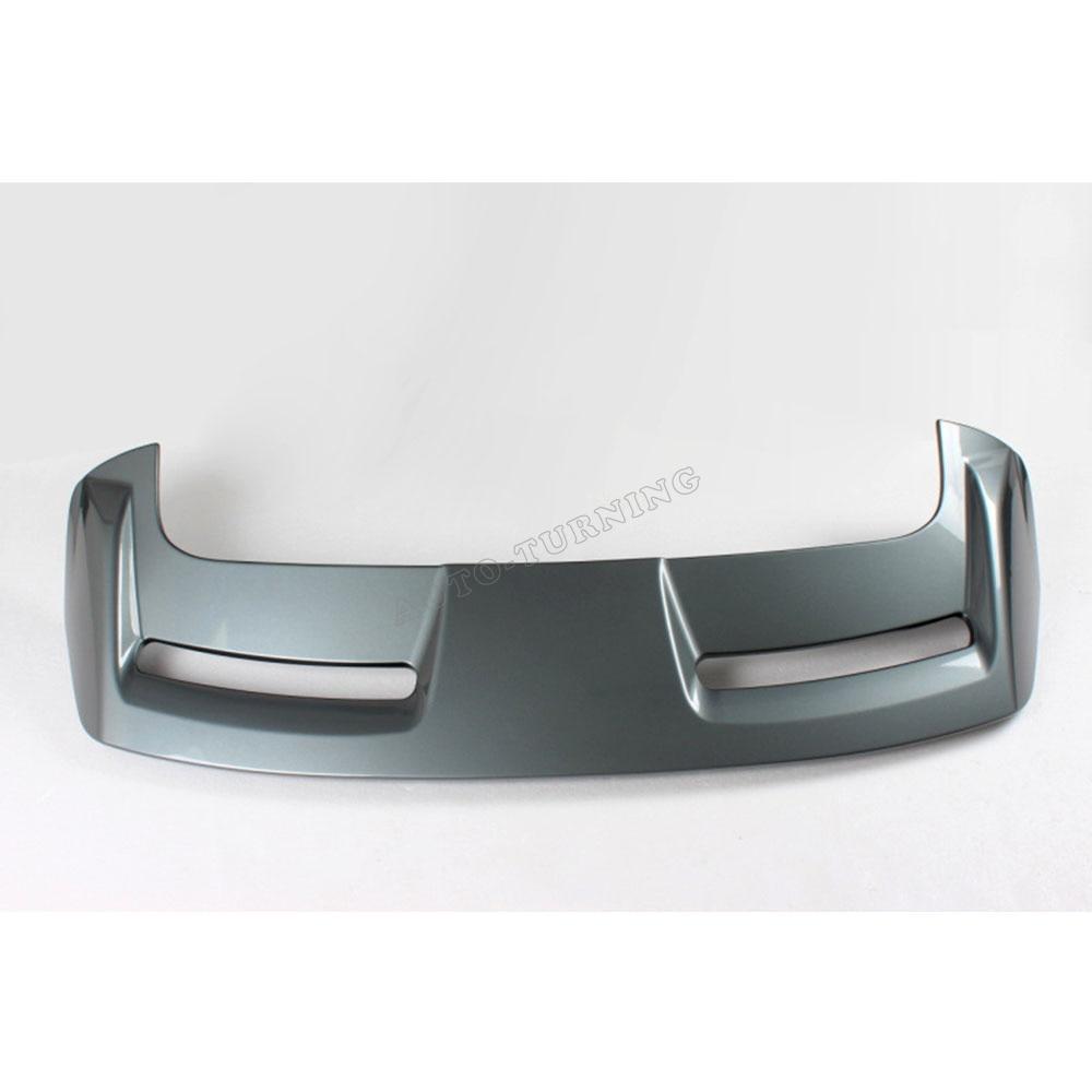 Серый окрашенные Авто заднего крыла багажник спойлер для Ford Focus Хэтчбек 12 13