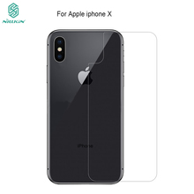 For iphone X Screen Protector Back NILLKIN Amazing H Anti-Explosion tempered Glass For Iphone 8 iphone 8 plus Back Cover