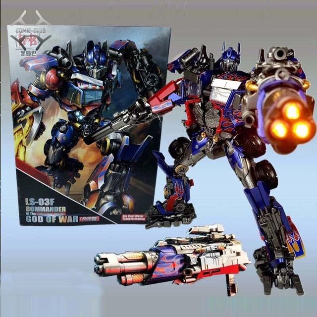 קומיקס מועדון INSTOCK BMB LS03F OP מפקד שינוי סרט MPM04 MPM 04 Oversize סגסוגת שרירים Diecast דמות רובוט צעצועים
