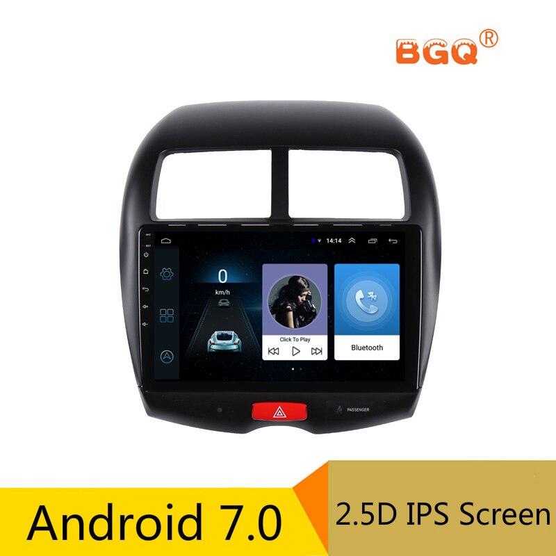 10.1 Android Voiture DVD Lecteur Multimédia GPS Pour Mitsubishi ASX 2010 2011 2012 2013-2016 voiture radio stéréo navigateur bluetooth