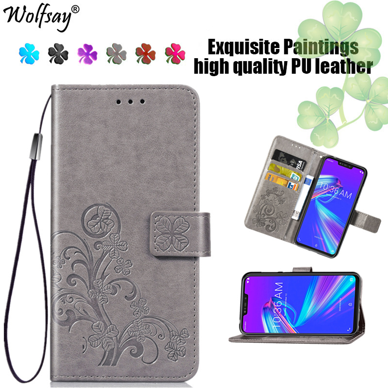Cover For Asus Zenfone Max M2 ZB633KL Case Stylish Leather Flip Case For Asus Zenfone Max M2 ZB633KL Wallet Case Phone Bag 6.26