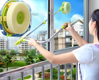 2016 hot Window Glass Cleaner Good Quality Makeup Brush Cleaner Window Clean Tools Scalability Plastics Home Clean Accesseires