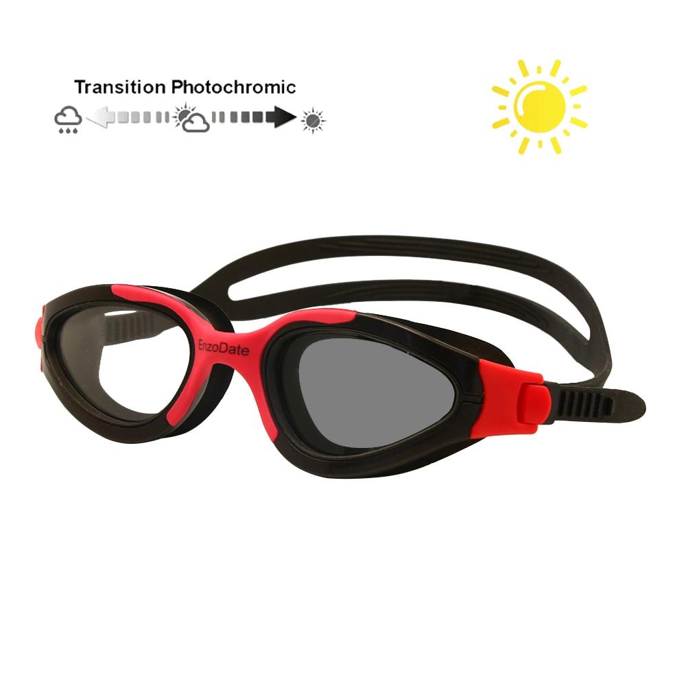 Photochromic Transition Swimming Glasses Swim Goggles Triathlon Anti-Fog UV400 Easy Adjusting ComfortablePhotochromic Transition Swimming Glasses Swim Goggles Triathlon Anti-Fog UV400 Easy Adjusting Comfortable