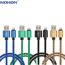 Charger Cable For iPhone 6 S 6S 7 8 Plus X XR XS Max 5 5S 5C SE iPad Mini Air Origin Short Long 2m 3m Data USB Wire Cord Charge