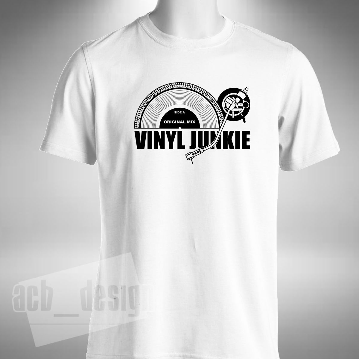 Superb Vinyl Junkie T Shirt