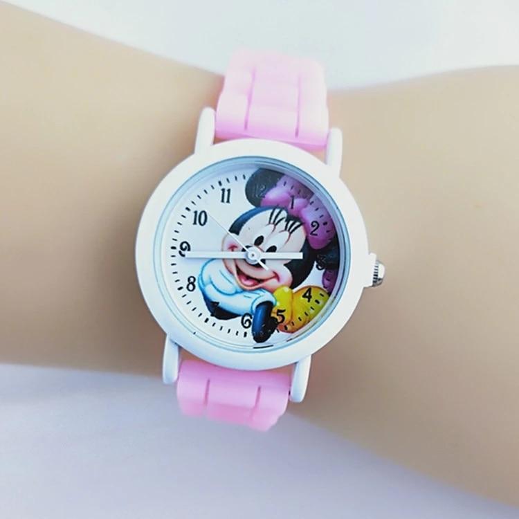 New Cartoon Mimi Men's And Women's Children's Belt Quartz Wristwatch Student Watch