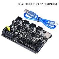BIQU BIGTREETECH SKR MINi E3 32 Bit Control Board Integrated TMC2209 UART RGB Controller Marlin For Ender 3 /5 3D Printer Parts