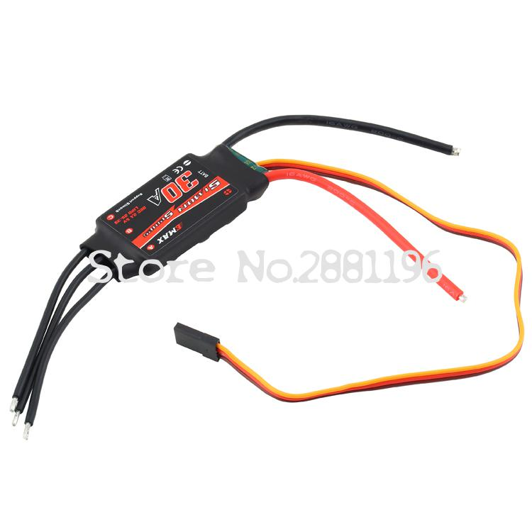 Wholesale Simonk 12A 20A 30A Brushless ESC Electronic Speed Controller for Quad Multicopter 1pcs 2pcs 4pcs
