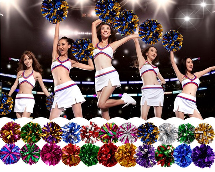 1pcs Cheerleading Pom Poms  Cheerleaders