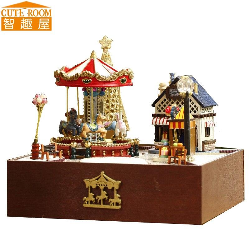 Aliexpress.com : Buy Assemble DIY Wooden House Miniaturas