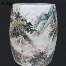 1 шт. набор роскошный китайский горный керамический стул