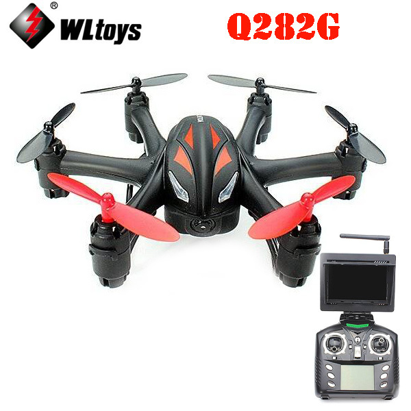 WLtoys Q282G 5.8G FPV With 2.0MP Camera 6-Axis RC Hexacopter RTF hengfang 52135 princess style water resistant eyeliner gel w brush black