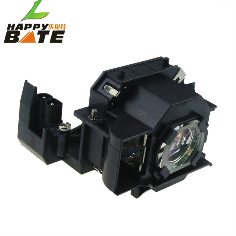 HAPPYBATE ELPLP34/ V13H010L34 Replacement Projector Lamp For PowerLite 62C PowerLite 76C PowerLite 82C With Housing projector lamp v13h010l34 elplp34 for emp 62 emp 62c emp 63 emp 76c emp 82 emp x3 powerlite 62c powerlite 76c powerlite 82c