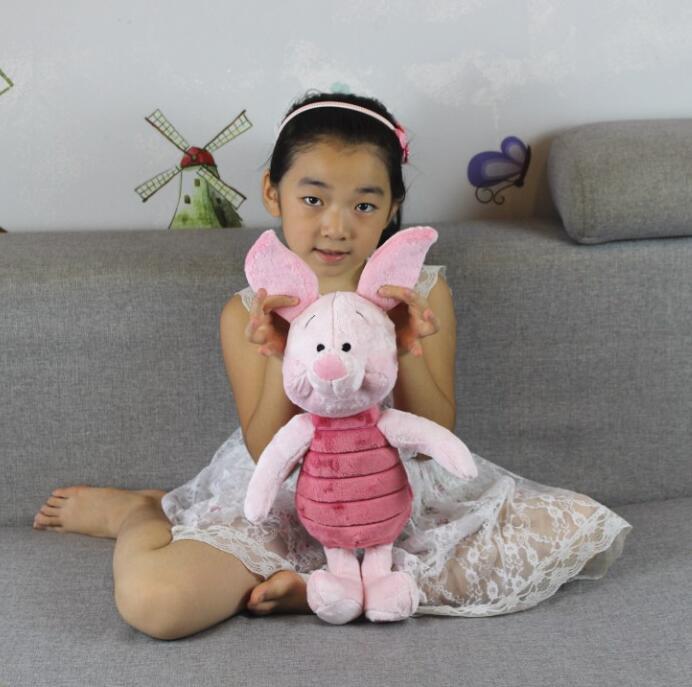Gratis frakt 1st Mickey Bear och Friend Kawaii Pink Piglet Gris - Dockor och tillbehör - Foto 2