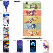 TPU Phone Coque For iPhone 4 4S 5 5C SE 6 6S 7 8 Plus X Galaxy S5 S6 S7 S8 Grand Core II Prime Alpha Sailor Moon Crystal(China)