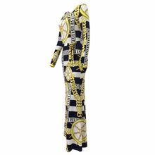 Tsuretobe Summer Casual Long Sleeve Bodycon Dashiki Dress