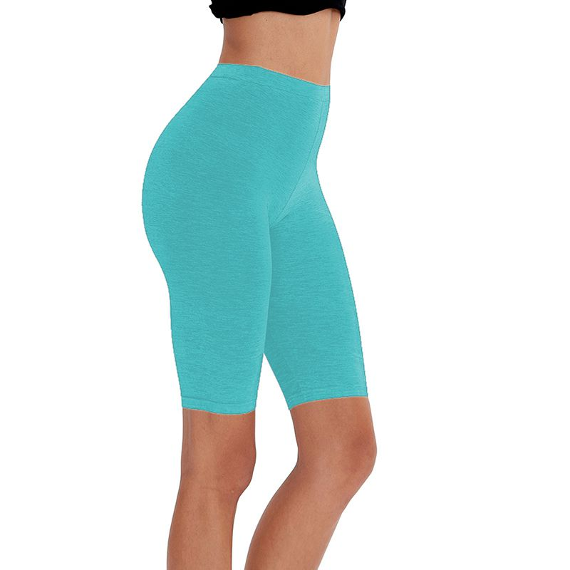 HTB1f5IbXUuF3KVjSZK9q6zVtXXaC - 95% cotton 5% spandex women slimming running shorts skinny very soft highly stretchy girl short M30292