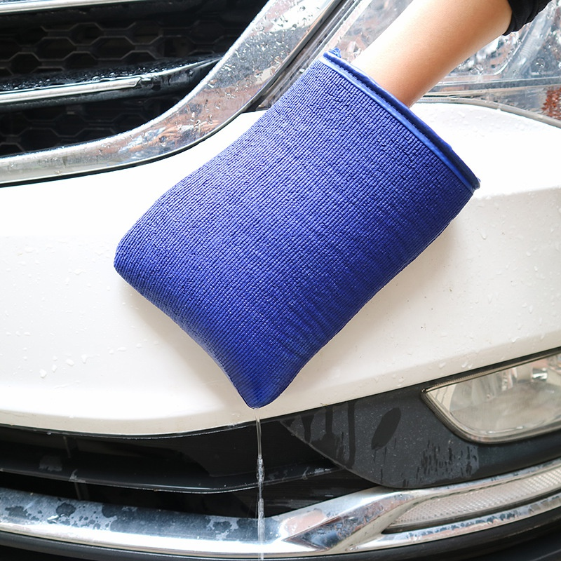Car beauty cleaning cloth decontamination cloth car wash mud car wash gloves Auto font b Care