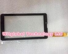 """Envío gratis Negro 7 """"pulgadas de pantalla táctil, 100% Nuevo Para El panel táctil YJ321FPC-V0, Tablet PC digitalizador del sensor YJ321FPC"""