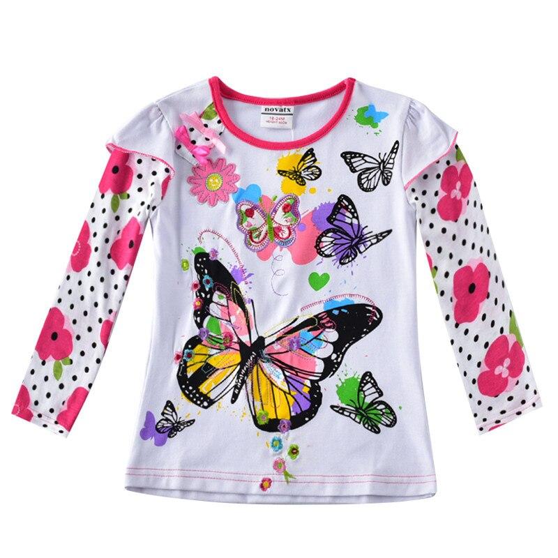 baby girls clothes girl t shirt girls fashion t shirts baby printed floral girl t shirts children clothing casual t shirts стоимость