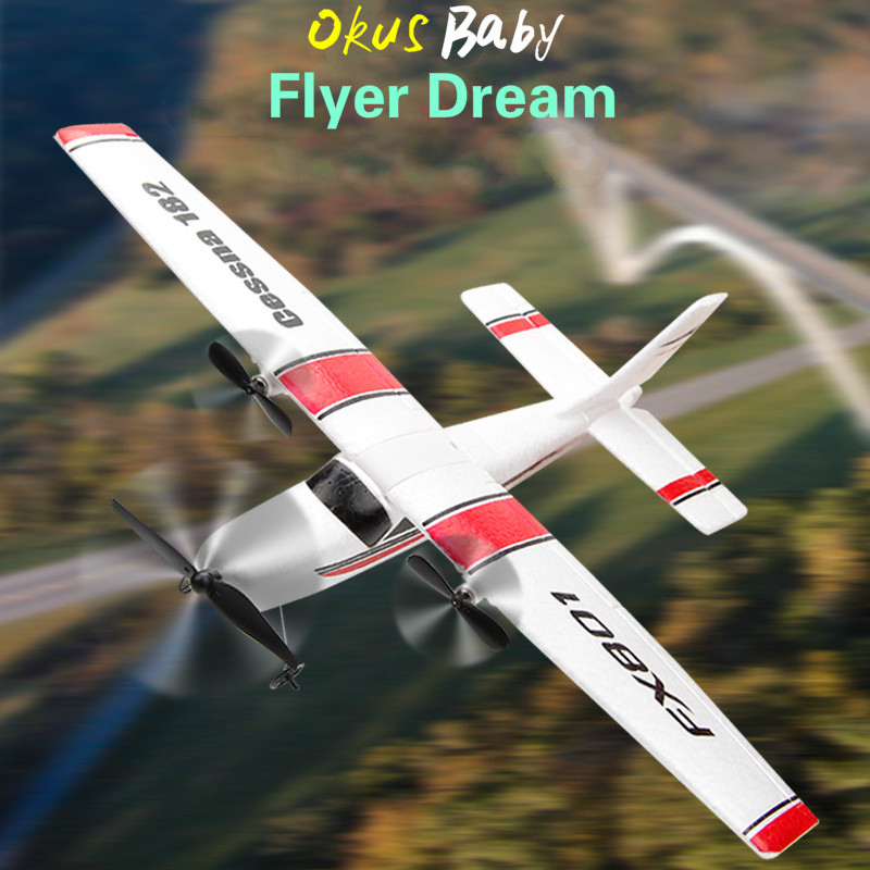 2019 RC Plane Toy EPP Craft Foam Electric Outdoor RTF Radio Remote Control Tail Pusher Quadcopter Glider Airplane Model For Kid