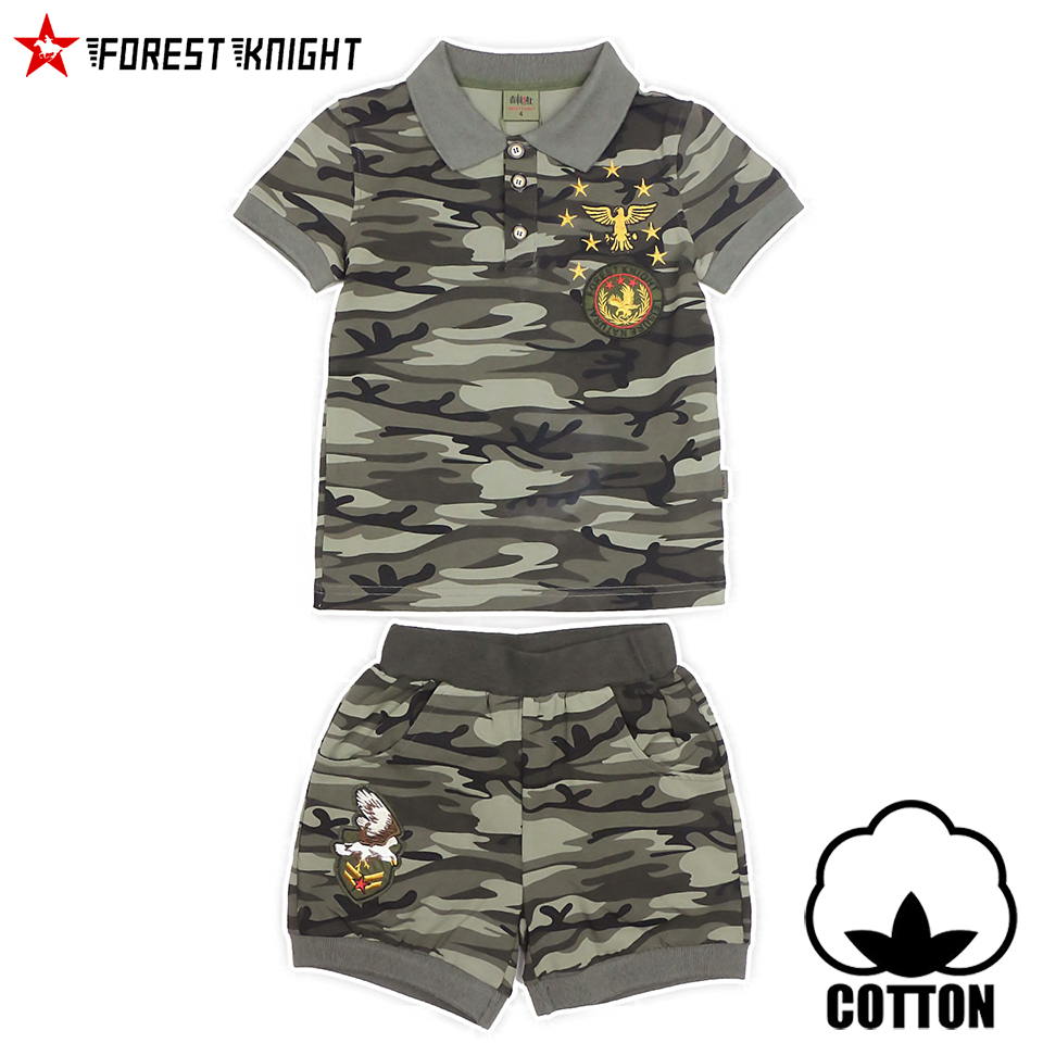 polo t shirt sets boy girl cotton high quality short sleeve army camo children outdoor camping paintball kid sportswear 9101 ...