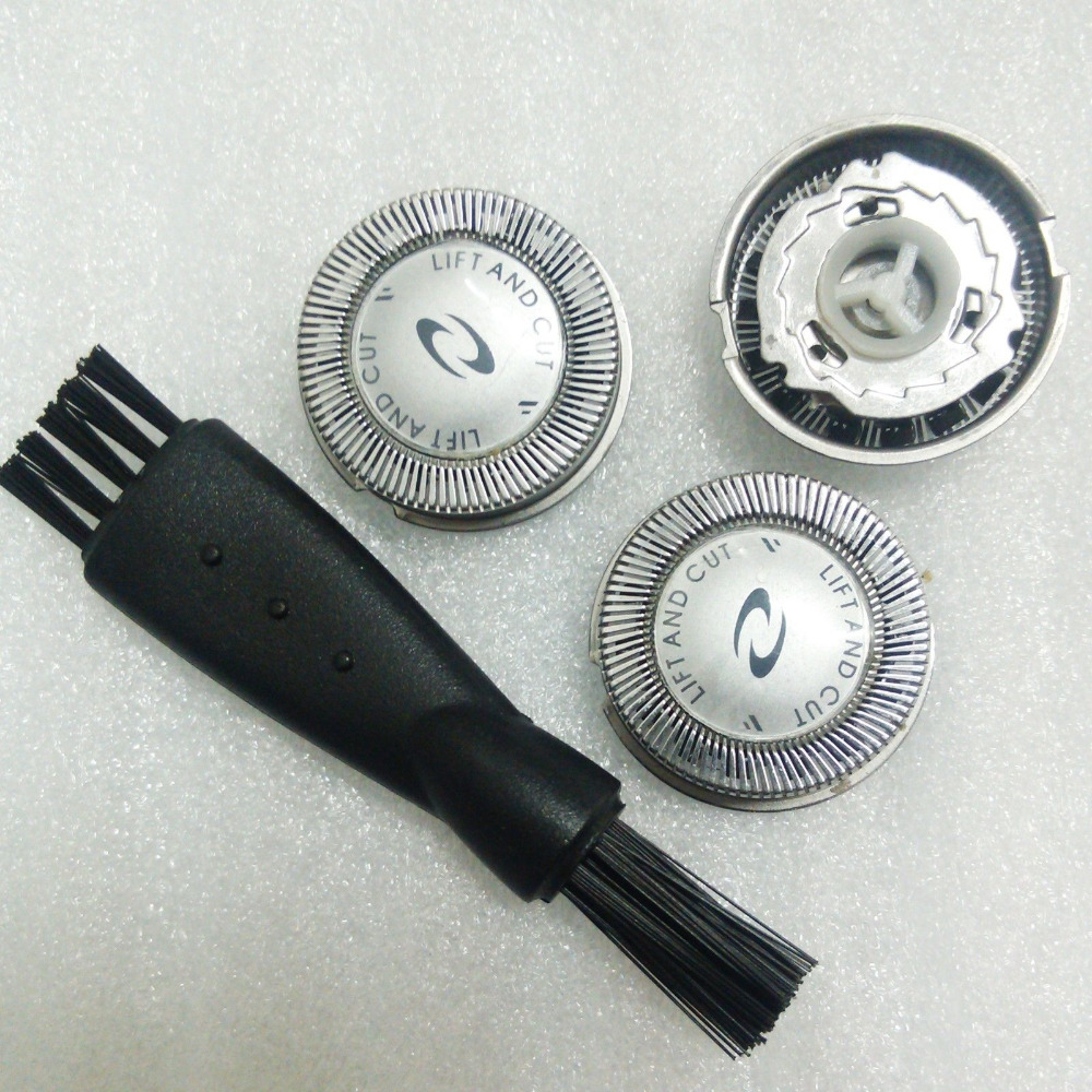 3pcs <font><b>Razor</b></font> Blade <font><b>Replacement</b></font> Shaver <font><b>Head</b></font> For <font><b>Philips</b></font> Norelco <font><b>HQ56</b></font> HQ55 HQ6900 HQ40 HQ6868 HQ6854 HQ6990 Shaver Blade image
