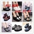 Creepers Обувь плюс размер 35-41 Женщина мода криперс туфли на платформе Квартир Женщин Обувь