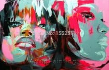 Face portrait painting Girls