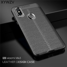 For Cover Xiaomi Mi Mix 3 Case Luxury Armor Rubber Phone Shell Fundas