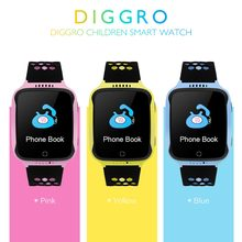 Diggro M01 2G Touch Kids GPS Tracker Smart Watch with Camera 2G SIM Anti-lost SOS Children Boy/girl baby Smartwatch PK Q750 V7K(China)