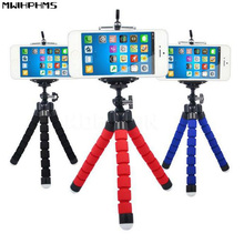 Flexible Octopus Tripod mini Car Phone Holder  Bracket Selfie Stand Mount Monopod Styling Accessories For Mobile phone /camara ootdty flexible tripod stand gorilla mount monopod holder octopus for gopro camera