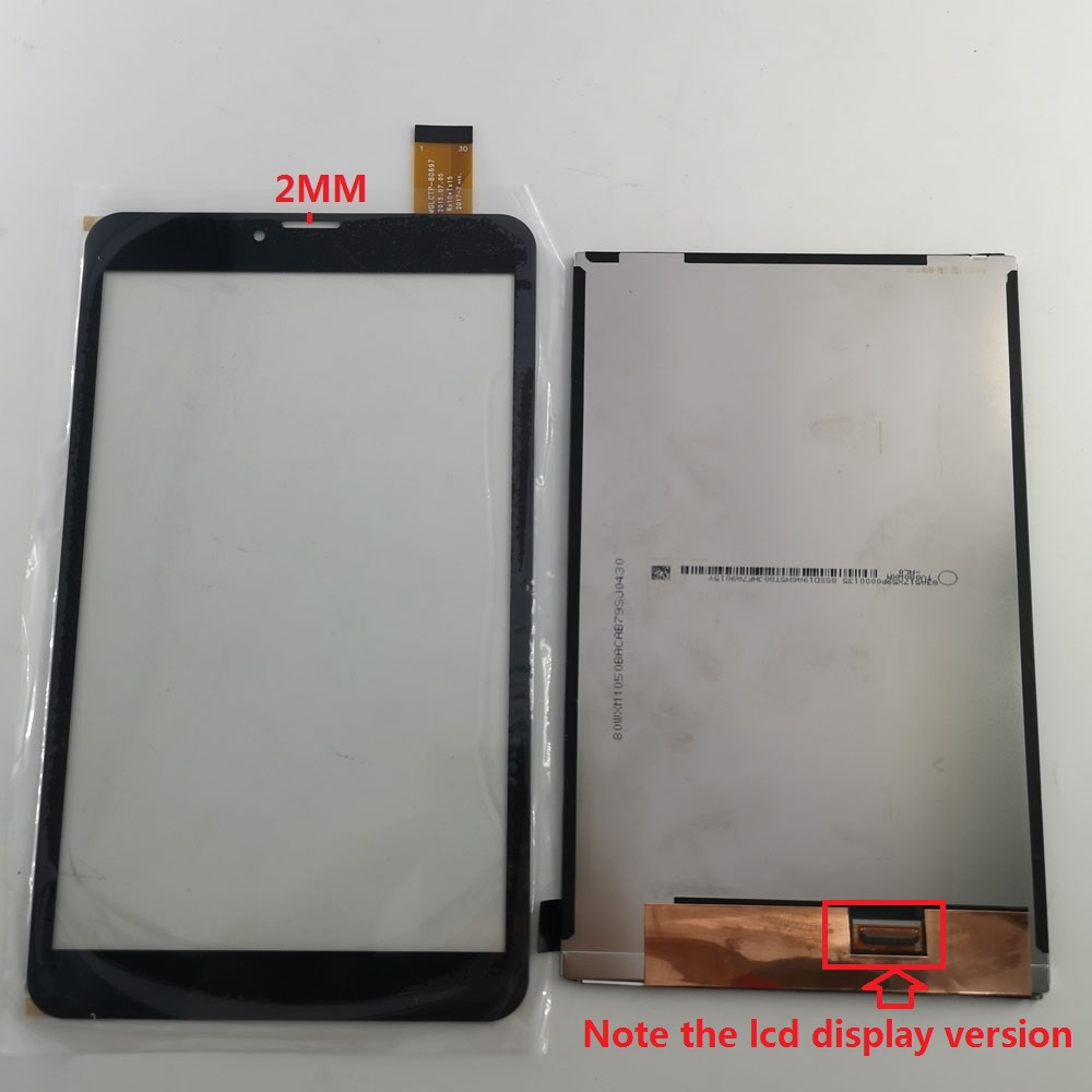 8 Inch For TEXET TM-8044 8.0 3G Tablet Pc Lcd Display Screen Touch Panel Screen Digitizer Glass Sensor Replacement