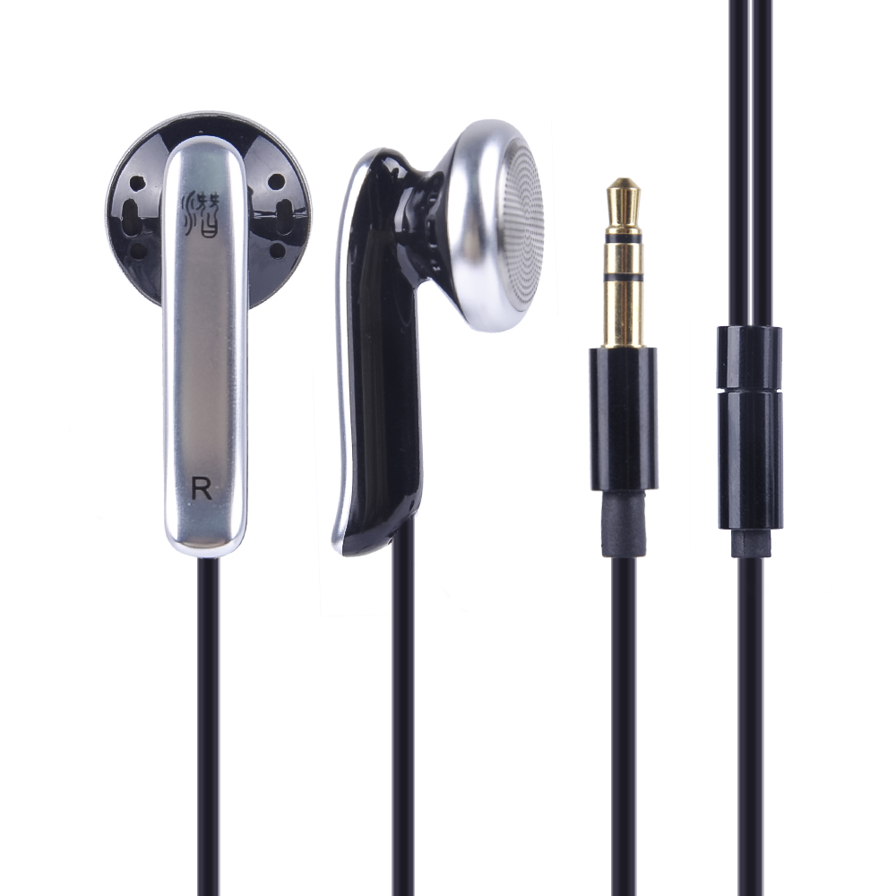 Original New QianYun Qian69 Hifi In Ear Earphone High Qaulity Bass Dynamic Flat Head 3.5mm Earbuds Headset