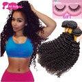 Malásia Kinky Curly Virgem Cabelo rainha Produtos para o Cabelo 10A 4 Ofertas Bundle Vip Beleza Cabelo Encaracolado Afro Crespo Encaracolado Malaio cabelo