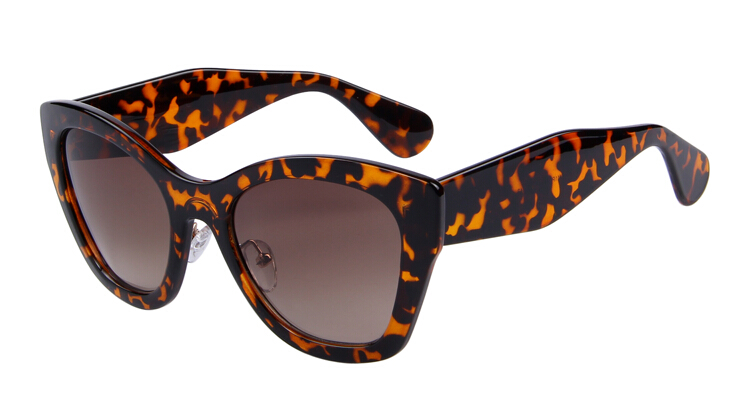 Бренд MERRY'S Butterfly очки модные солнцезащитные очки женские солнцезащитные очки «кошачий глаз» высокое качество Oculos UV400 - Цвет линз: C05 Leopard