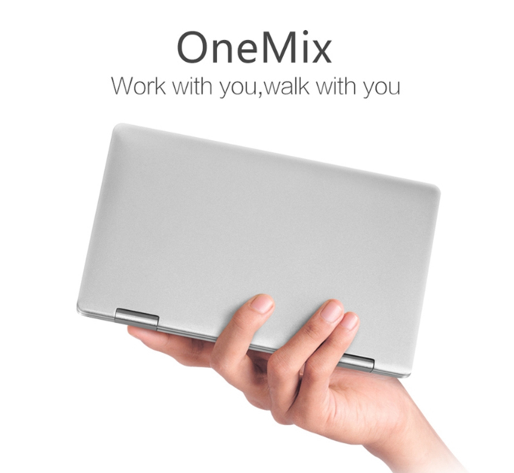 One Netbook One Mix Yoga Pocket Laptop Tablet PC 7.0'' Windows 10.1 Intel Atom X5-Z8350 Quad Core 8GB RAM 128GB EMMC Notebook