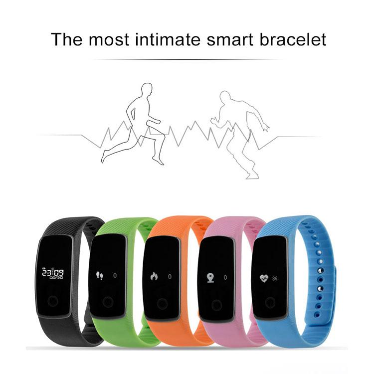 0.49 Inch BT4.0 Smart Watch Smartband Bracelet Sleep Monitor Smartwatch Pedometer Stopwatch Calorie WristWatch For Android iOS