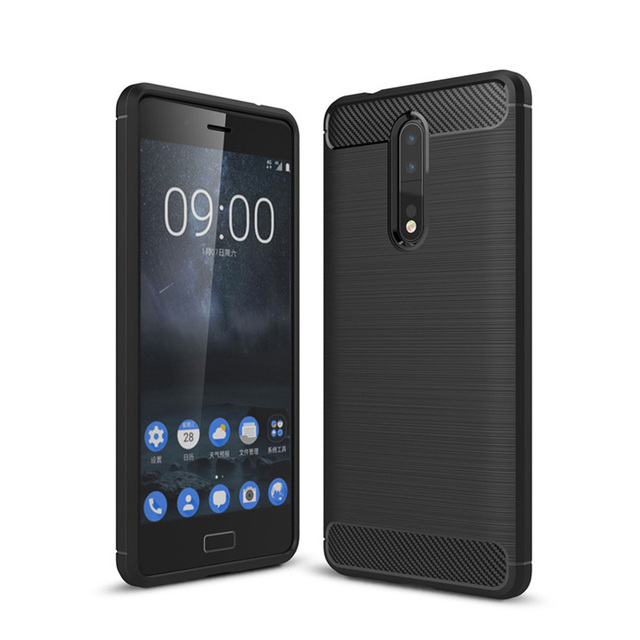 info for e8c69 88cb2 US $3.09 5% OFF Original Soft Case For Nokia 8 Case Cover Silicone Back  Cover Phone Case For Nokia 8 Nokia8 TA 1012 5.3 inch-in Fitted Cases from  ...
