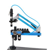 Pneumatic Air Drill Tools M3 M12 Tapping Machine 400RPM 1000mm Metalworking Tapper Machine Arm Collect Chucks 6pcs|pneumatic air drill|air drillair drilling machine -