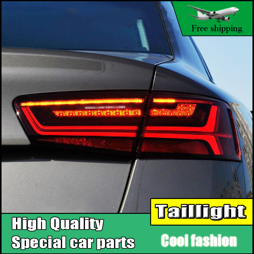 Car Styling TailLights For Audi A6 Sedan 2012 2013 2014