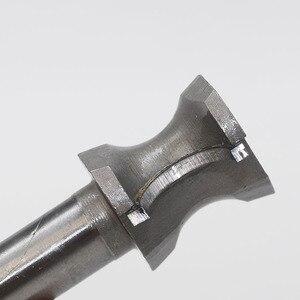Image 4 - 1 sztuk półokrągłe szczypce Bit frez 12.7mm/6.35mm SHK bity do obróbki drewna