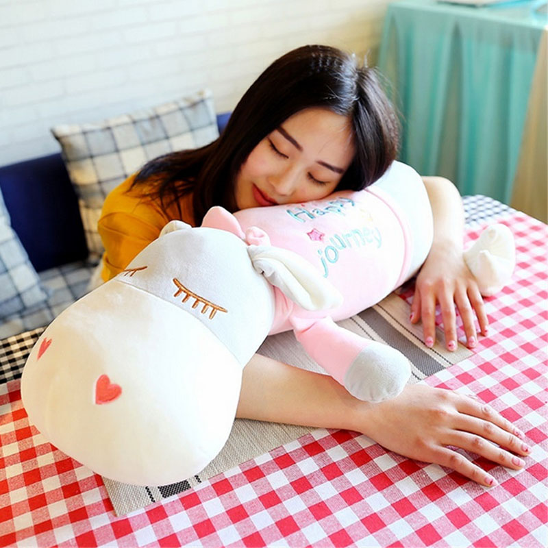 Fancytrader giant stuffed plush donkey toy big soft animal donkey pillow doll for sale nice birthday gift 28inch giant bunny plush toy stuffed animal big rabbit doll gift for girls kids soft toy cute doll 70cm