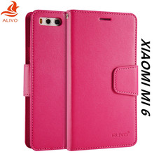 Xiaomi Mi 6 Case Flip Leather + TPU Silicone Material Back Cover For Xiaomi Mi6 Protector Phone Bag Cases Accessory Capa Coque