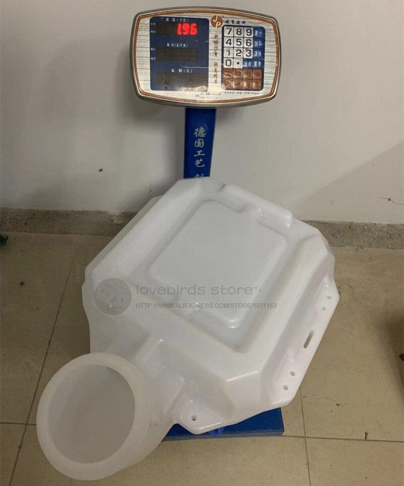 Contenedor UAV de protección de planta, tanque de agua de plástico 25L, entrada más grande con filtro para Dron de pulverización agrícola DIY-in Partes y accesorios from Juguetes y pasatiempos    1