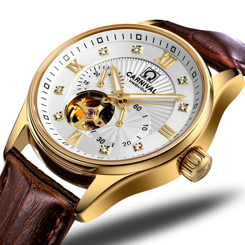 Japan MIYOTA Automatic Movement Watch Men Switzerland Carnival Brand Luxury Men Watches Sapphire hombre relogio clock C7612-5Japan MIYOTA Automatic Movement Watch Men Switzerland Carnival Brand Luxury Men Watches Sapphire hombre relogio clock C7612-5