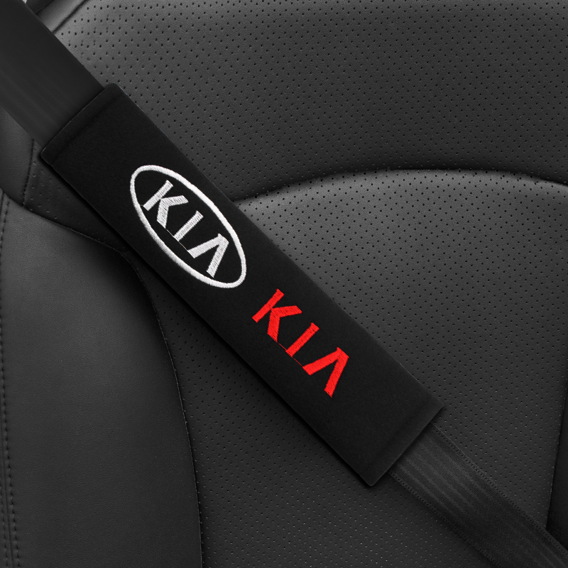 Image 5 - 1x Car Styling Accessories Seat Belt Shoulders Pad Truck Cushion Cover For Kia Ceed Rio Sportage R K3 K4 K5 Ceed Sorento Cerato-in Car Stickers from Automobiles & Motorcycles