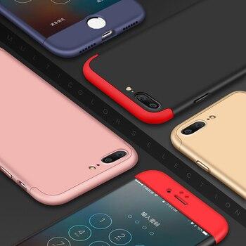 360 Protection complète 3 en 1 robuste Double Dip housse de téléphone pour iPhone 6 6 S 7 7plus mince mat Coque de Protection Fundas Coque