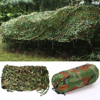 7*1.5m Professional Military Camo Net Vehicle Camouflage Net Outdoor Hunting Blinds Netting Car Tent Cover Camping Sun Shelter